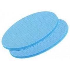 Disque abrasif parfait le ponçage à sec ou humide. Evacuation de l'eau et de la poussière optimisée.