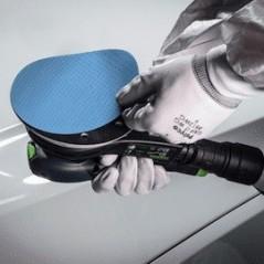 Disques abrasifs en mousse 3M Pour les phases de finition de la réparation automobile.
