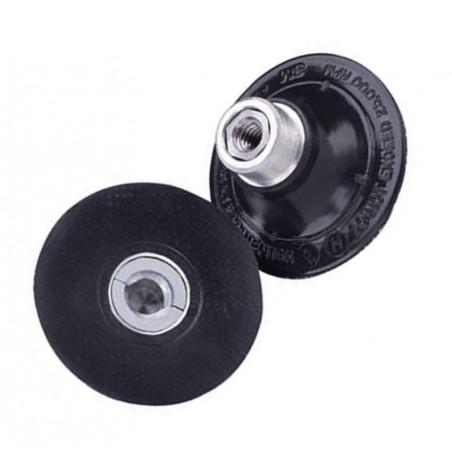 Plateau rigide Roloc pour les disques fibres 3M.