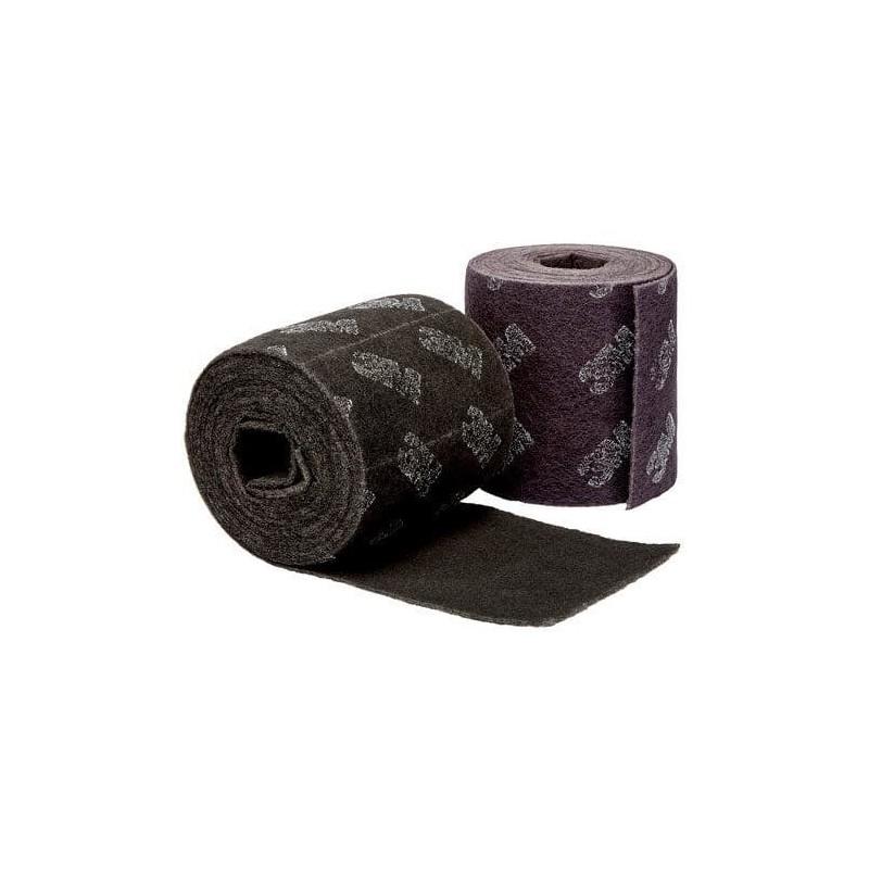 Coupe abrasive ScotchBrite MultiFlex en rouleau 10 x 20 cm Violet fin ou gris très fin 3M