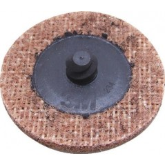 Disques de préparation de surface ScotchBrite 3M avec la technologie Roloc pour changer rapidement le disque abrasif.