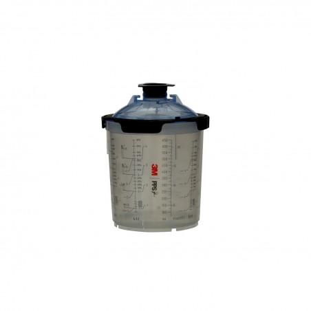 PPS 2.0 standard Poche jetable 650ml et couvercle (filtre 125 microns) - 3M 26026