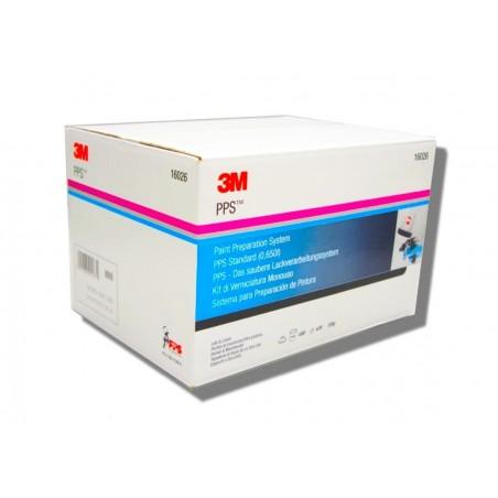 PPS 1.0 standard Poche jetable et couvercle (filtre 125 microns) - 3M 16026