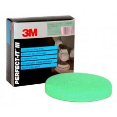 2 mousses de polissage 3M-Perfectit  Vert 150 mm. Utiliser avec le liquide de polissage vert.